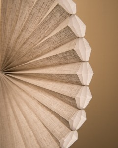 Alustra Duette honeycomb shades Fanned Out-min