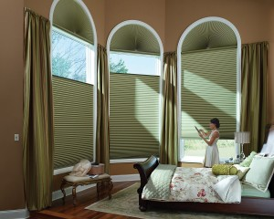 Duette Architella honeycomb shades PowerRise 2-1 with Platinum Technology-min