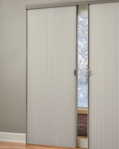 Duette Architella honeycomb shades opened-min