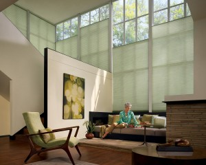 Duette Architella honeycomb shades with UltraGlide-min