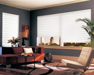 Vignette Traditional Modern Roman Shades with EasyRise cord loop-min