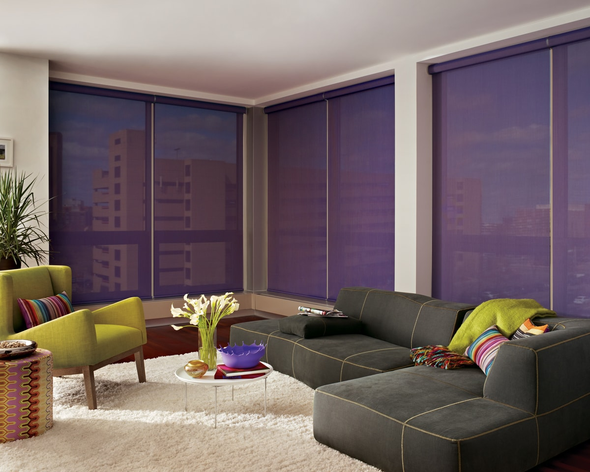 Designer Screen Shades with Cordless system-min