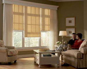 Designer Roller Shades with Standard Clutch-min