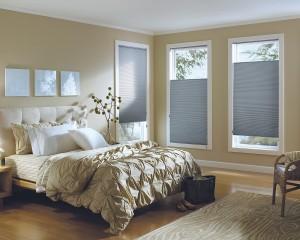 Applause honeycomb shades with Cordlock-min