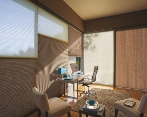 Applause honeycomb shades with Vertglide-min